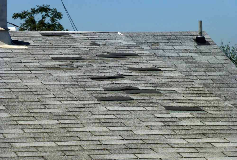 Old Asphalt Shingle Roof