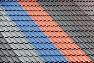 Metal Roofing Multi Colored