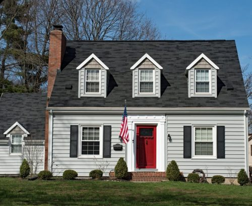 Vinyl Siding Cape House