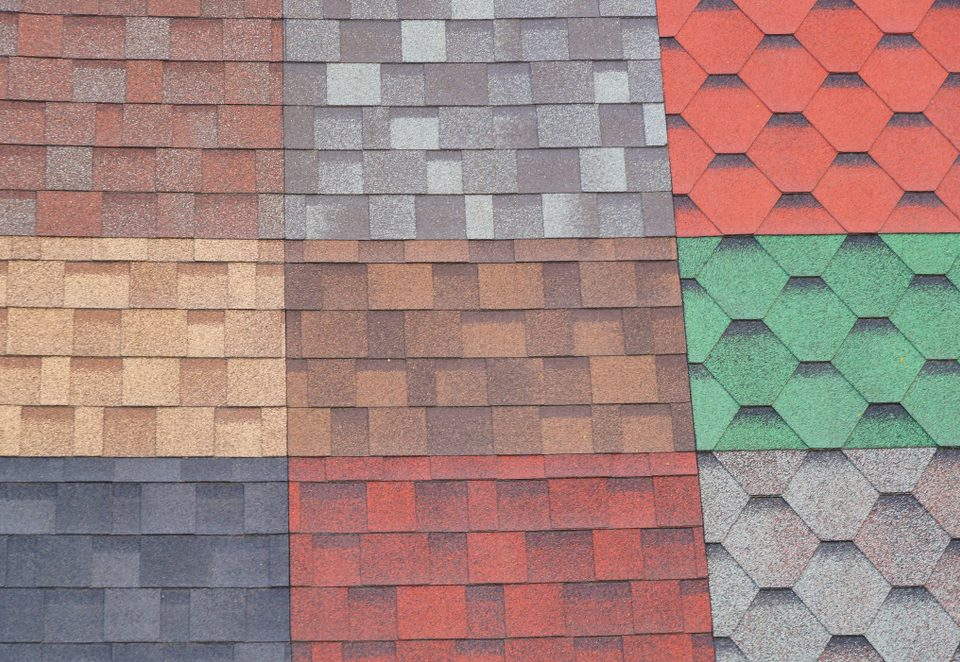 Colorful Asphalt Shingles