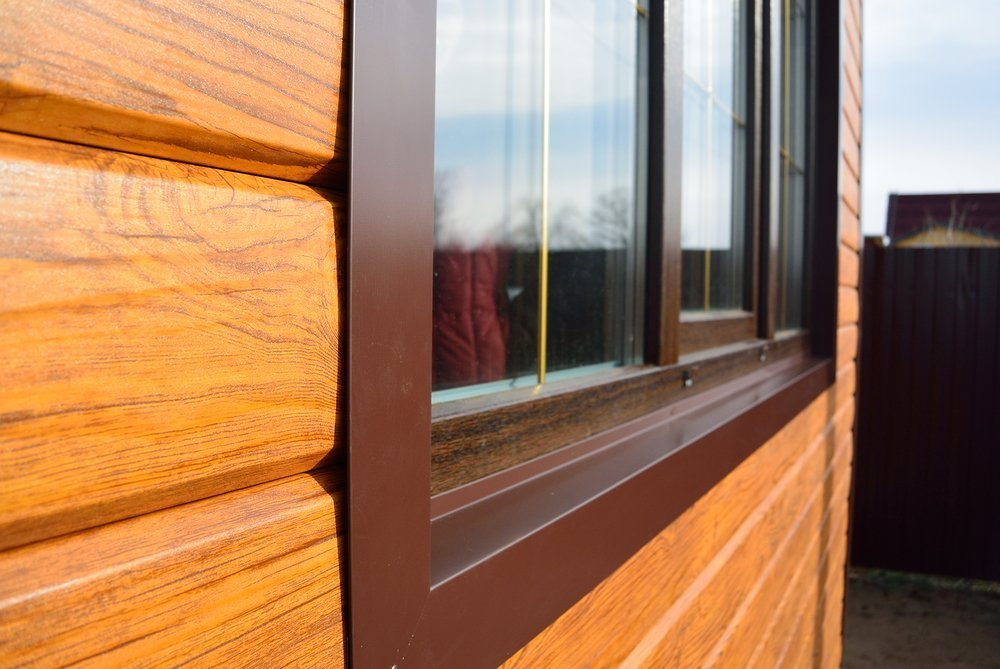 PVC Trim on Wooden Window & Siding