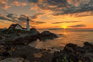 Cape Elizabeth, ME Lighthouse
